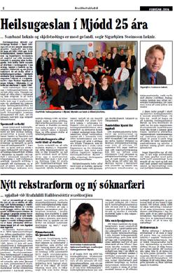 Smellið á mynd til að lesa grein sem birtist í Breiðholtsblaðinu.